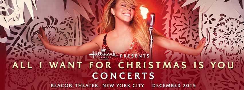 Mariah Carey au Beacon Theatre 2015 MCA_TOUR_BNR_OCT15_V1